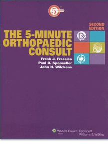 The 5-Minute Orthopaedic Consult