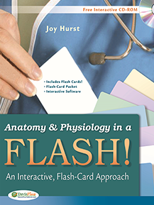 Anatomy & Physiology in a Flash! Book & Flash Cards: An Interactive, Flash-Card Approach