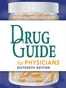 DrDrugs®: Drug Guide for Physicians