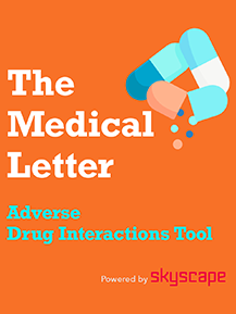 The Medical Letter's Adverse Drug Interactions Tool
