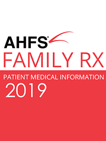 AHFS Patient Drug Information