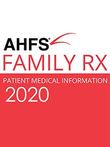 AHFS Patient Drug Information