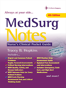 Med Surg Notes: Nurse's Clinical Pocket Guide