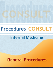 Procedures Consult: Internal Medicine - General Procedures