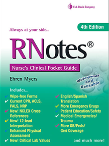 RNotes®: Nurse's Clinical Pocket Guide