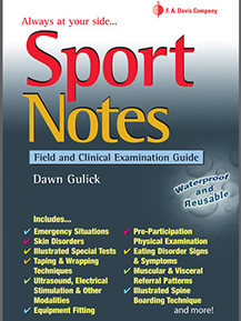 Sport Notes Field and Clinical Examination Guide