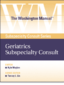 The Washington Manual® Geriatrics Subspecialty Consult